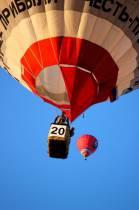 На большом воздушном шаре я летала этим летом